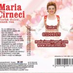 cd audio - maria cirneci
